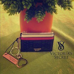 Women's Victoria Secret ID C/C holder change purse